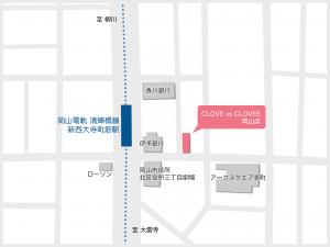 岡山店マップ